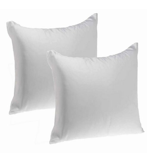 Buy Polyester 20 X 20 Inch Cushion Insert Set Of 2 By Zikrak Exim
