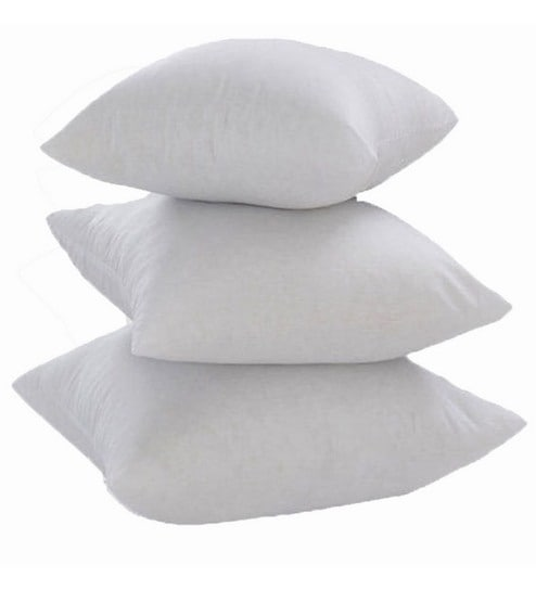 Buy Polyester 20 X 20 Inch Cushion Insert Set Of 3 By Zikrak Exim