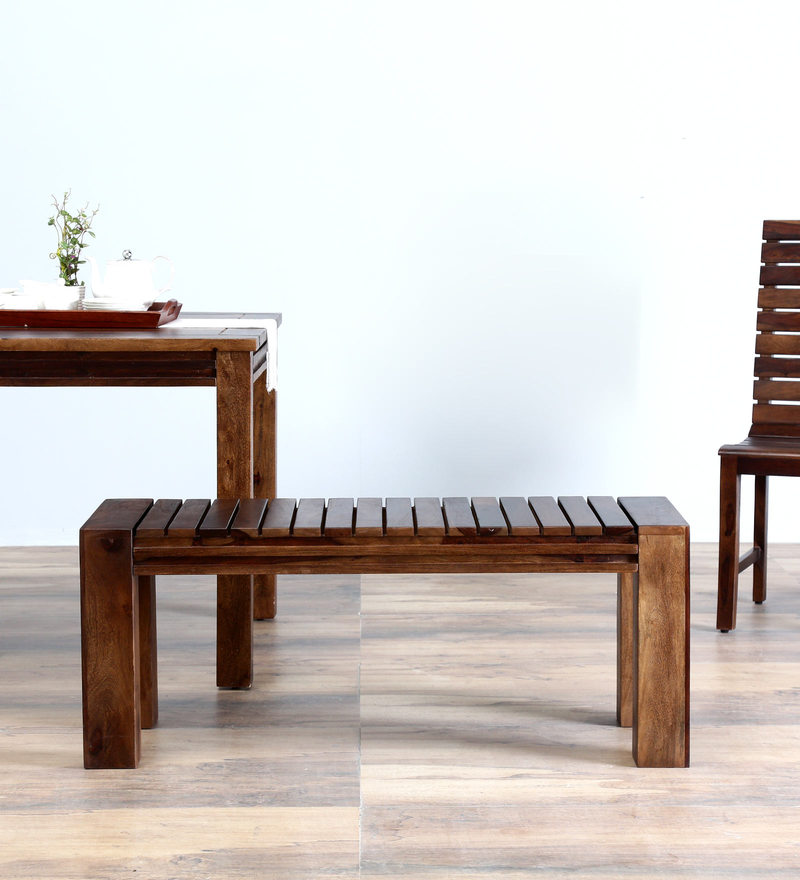Glen Bench in Provincial Teak Finish by Woodsworth