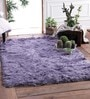 Blue Polyester Shaggy Area Rug by Zila Home