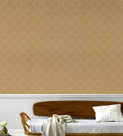 Brown Paper Wallpaper By Floor And Furnishings