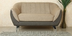 Zurich Two Seater Sofa in Golden Colour
