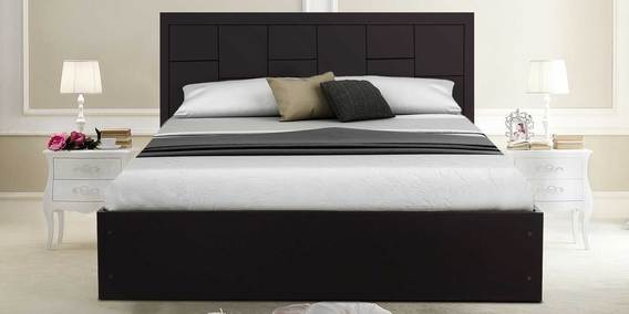 Buy Zuwei Diwan Single Bed With Storage In Matte Finish By